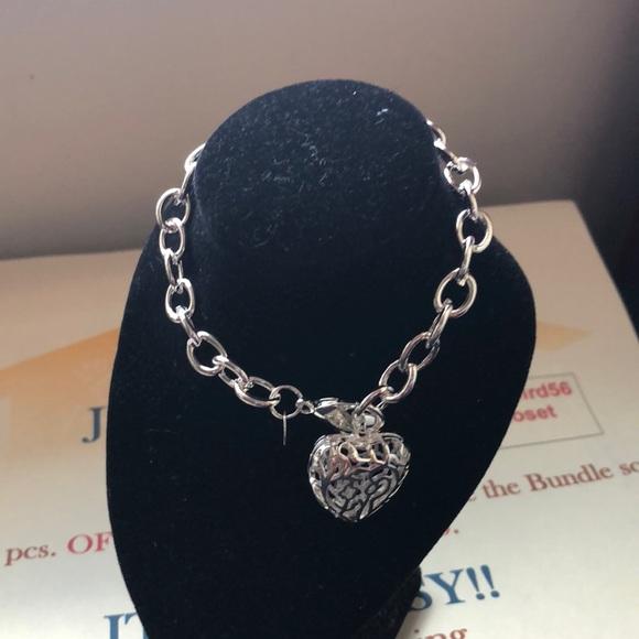 Folk Jewelry - 🌼🌼New 925 Hollow Heart Bracelet 🌼🌼